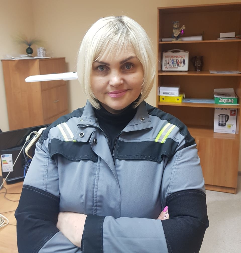 Андреева Марина Александровна (Заведующий складом)