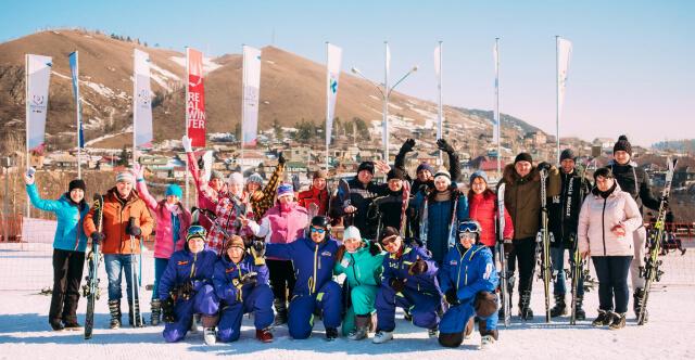 Коллектив компании покоряет альпийские просторы. Фотоотчёт.