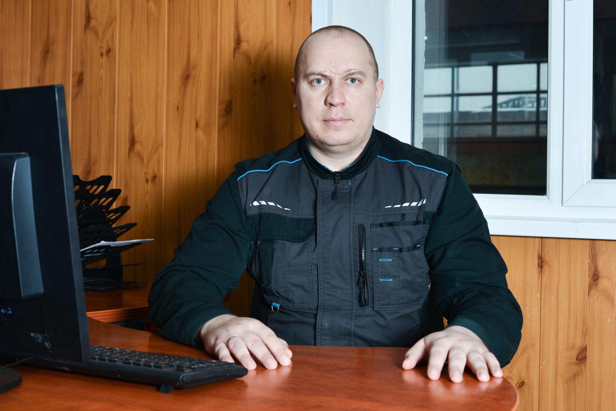 Зеленин Павел Евгеньевич (Начальник смены )